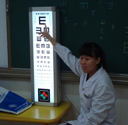 视力表/如何根据视力表检查视力。